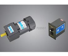 Buy 60W speed regulating motor AC speed control gear motor Micro AC gear motor ratio 30:1 for $89.90 in AliExpress store