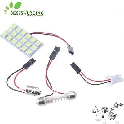 Источник света для авто 10 12v 18 SMD 5050 3 источник света для авто 10pcs lot g4 9 smd 5050 12v