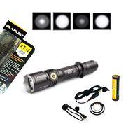 Klarus XT12 Cree XM-L2 LED Tactical 930 Lumens Rechargeable Flashlight UPda XT11