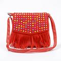 Children tassel handbags girls small shoulder bag kids messenger bags mini bag Coin Purses Toddler Wallet