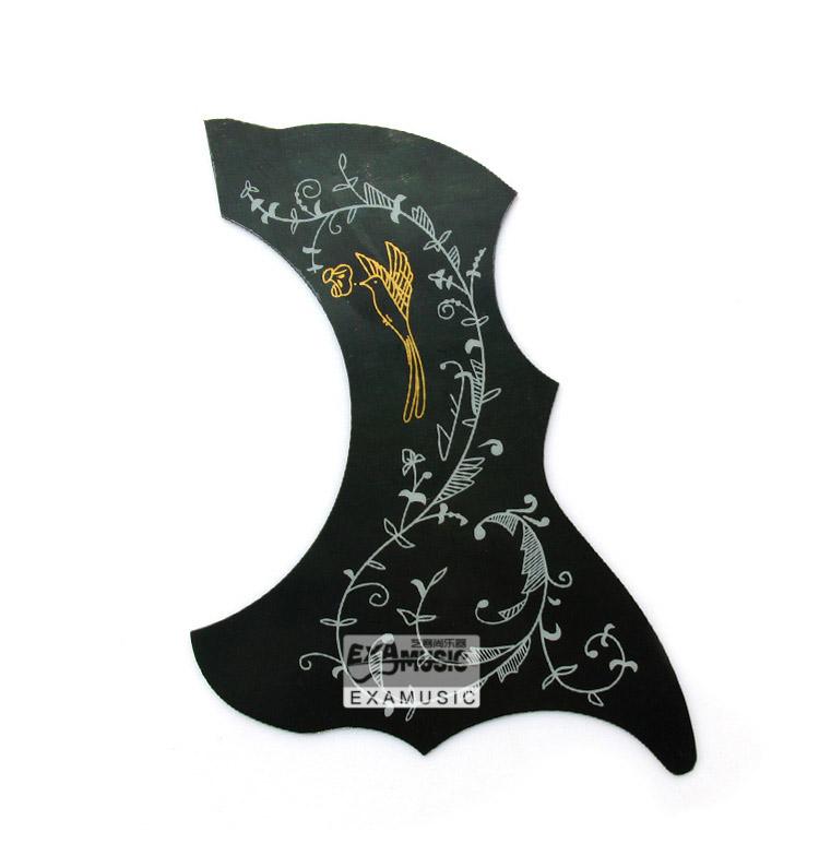 1pcs Hummingbird Acoustic Guitar Celluloid Pickguard Scratch Plate Pick Guard Self Adhesive(China (Mainland))