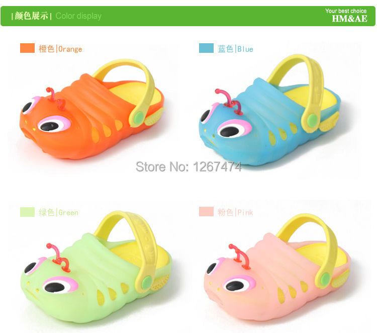 2014 Summer Children bayby Shoes mules clogs kids eva hole shoes child sandals slippers boys girls - Good again franchise stores store