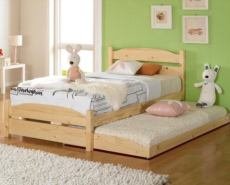 modern cheap solid wood frames loft bunk beds for boys girls kids children 39 s trundle bed hk012. Black Bedroom Furniture Sets. Home Design Ideas