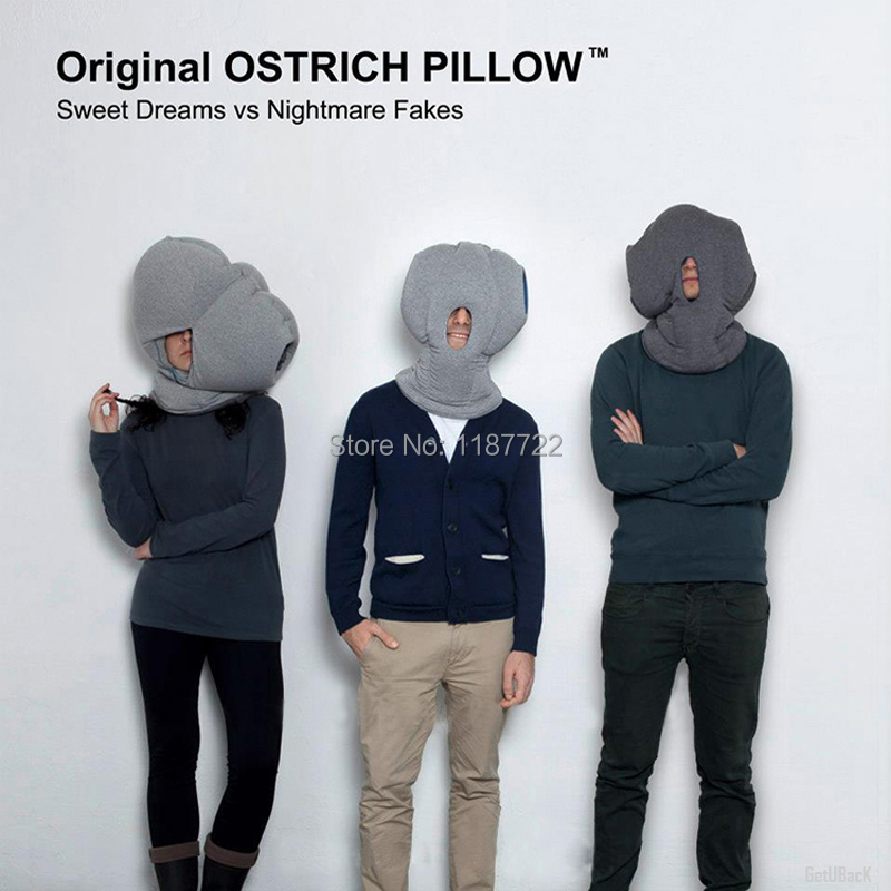Hot Sales Magic Pillow Neck Protecting Office Guard Nap Pillow Ostrich Travel Pillow Seep Bag For Snooze Free Shipping(China (Mainland))