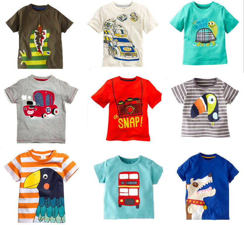 Buy retail brand 2015 new fashion kids for Buy 100 cotton t shirts in bulk