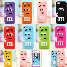 Buy 3D Cartoon M&M'S Chocolate Soft Silicone Phone Back Case Cover Skin iPhone 4 4S 5 5S 5C SE 6 6S 6 Plus 6SPlus iPhone 7 7Plus for $2.42 in AliExpress store