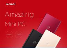 Ainol Mini PC Windows 8.1 2GB RAM 32GB/64G ROM Intel Z3735 Quad Core Business Mini Computer with USB HDMI ultrathin Mini PCs(China (Mainland))