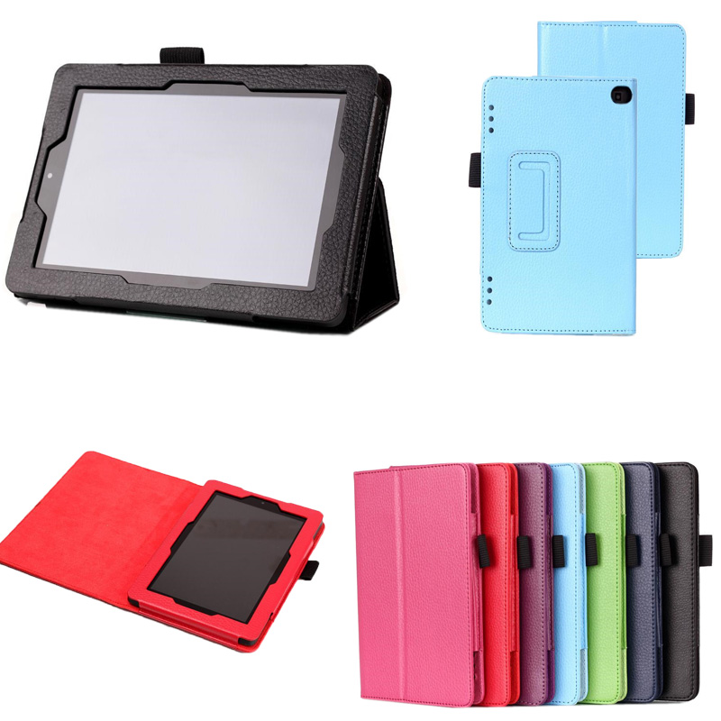 CY Lichee Patternsd Stand Leather Case Flip Sleep/Wake up Magnetic Cover For 2014 Amazon Fire HD 7 HD7(China (Mainland))