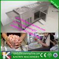 popular model pan frying ice Machine double round pan diameter 450mm fry ice cream machine ship
