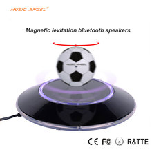 2016 New Design Mangle Levitating Mini Football Shaped Bluetooth Speakers Christmas gifts Birthday\Valentine's day gifts etc.(China (Mainland))