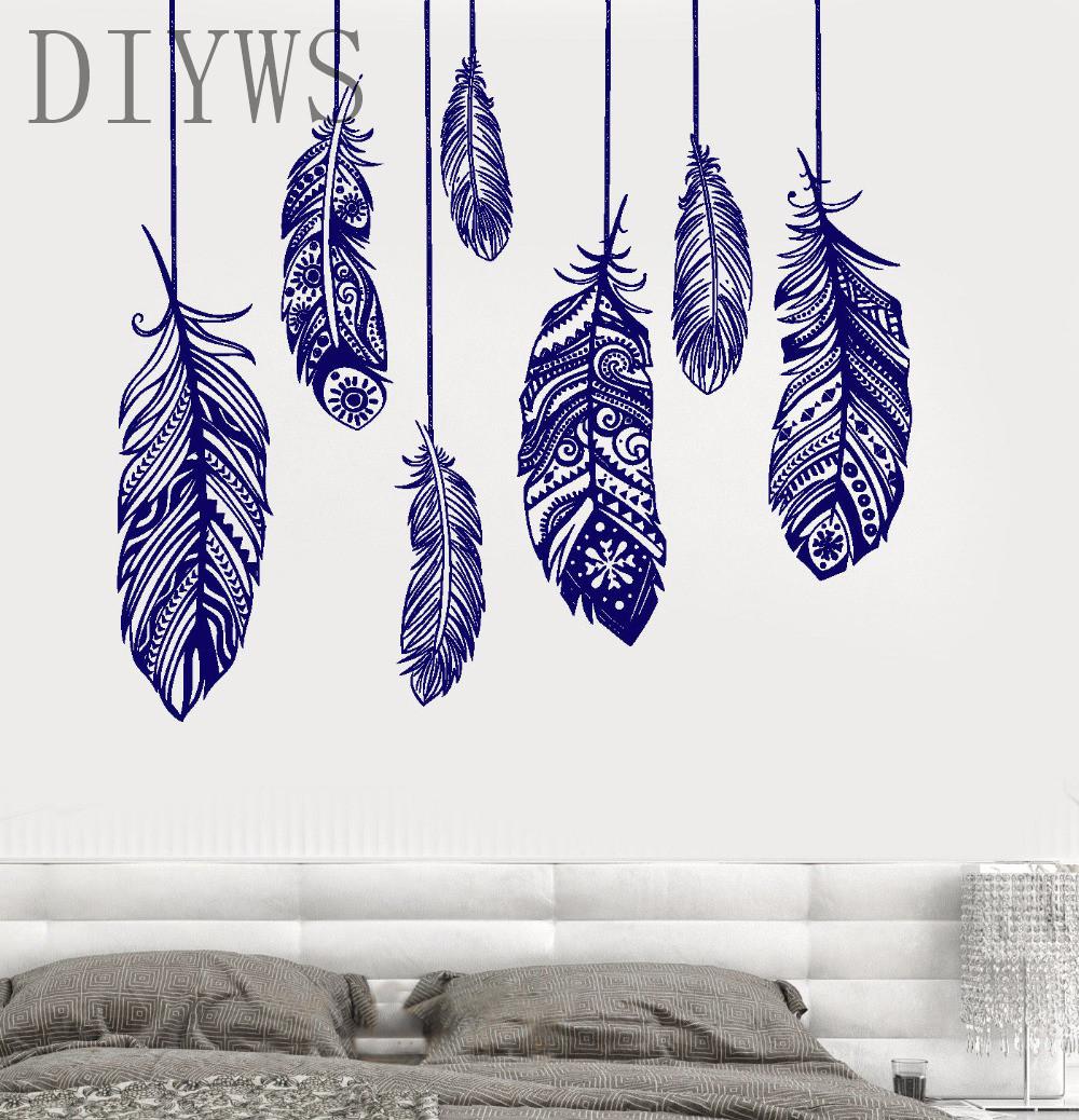 Romantic Bedroom Wall Decor Online Get Cheap Wall Decor Stencil Pattern Aliexpresscom