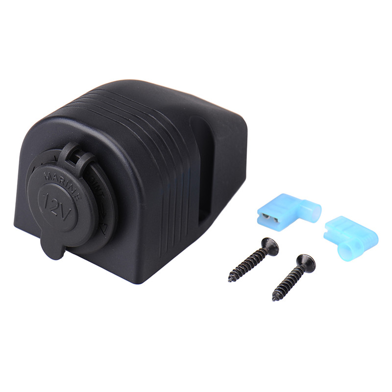 12/24V 120W Car Motorcycle Cigarette Lighter Marine Motorbike Power Socket Power Outlet Drop Shipping(China (Mainland))