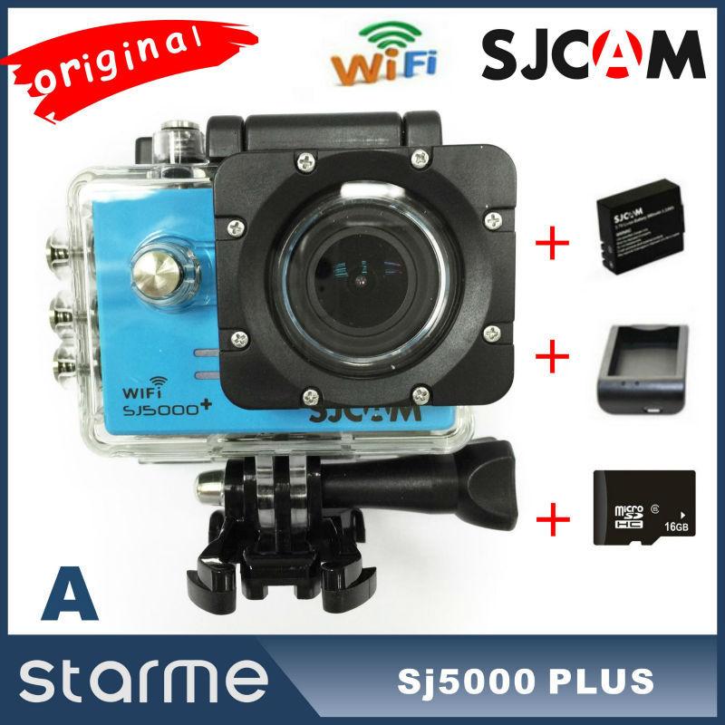 Original SJCAM SJ5000 Plus Sport Action Camera Ambarella A7LS75 Helmet Camcorder SJ5000+ WIFI full HD 1080P 60FPS Gopro Hero 4(China (Mainland))