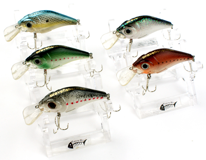 2014 new 5 pcs 75mm 10g spinner super fishing lure pike for Salmon fishing lures