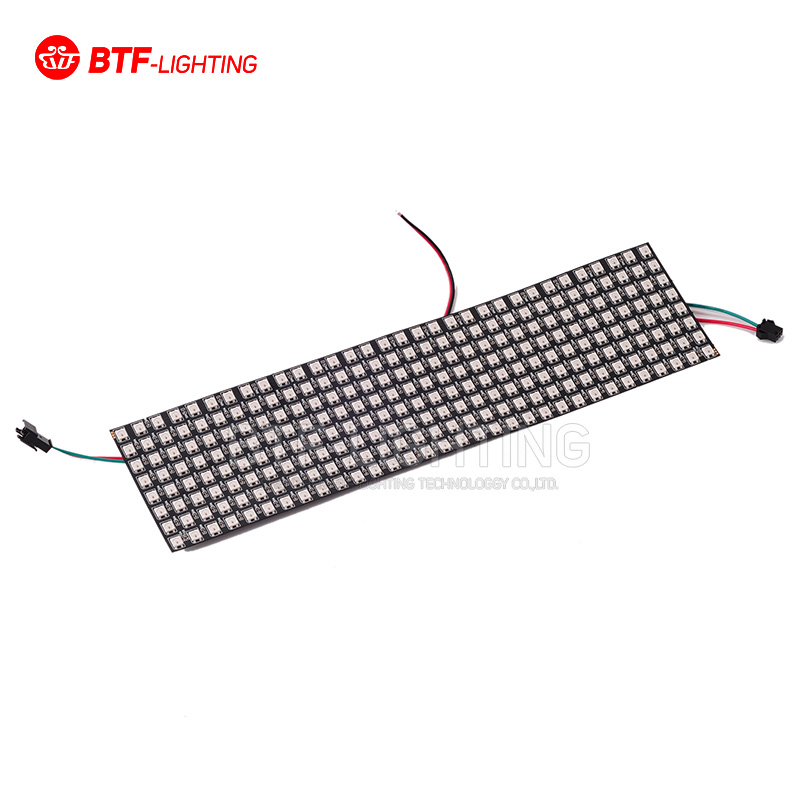 8*32 Pixel 256 Pixels WS2812B Digital Flexible LED Programmed Panel Screen Individually Addressable Full Color DC5V(China (Mainland))