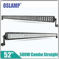 Oslamp 500W 52 CREE Chips Straight LED Light Bar OffRoad Light 12v 24v Led Light ATV