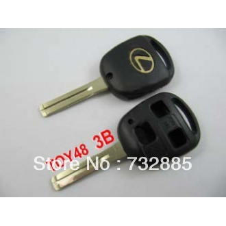 Special offer Best quality for Lexus remote key shell 3 button (without the paper words)(China (Mainland))