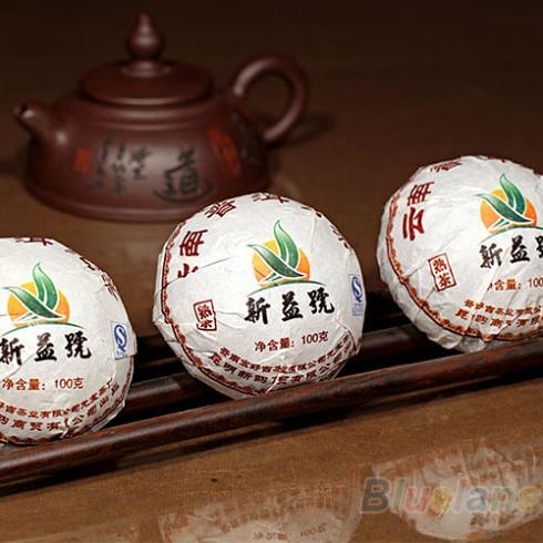 Xin Yi Hao Menghai Tuo Cha Puer Tea 100g Ripe 028A 4CPL