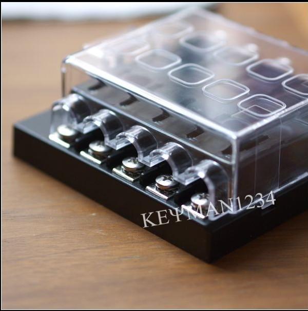 Fuse Box Kit Car : Way blade fuse box bus bar kit car boat marine