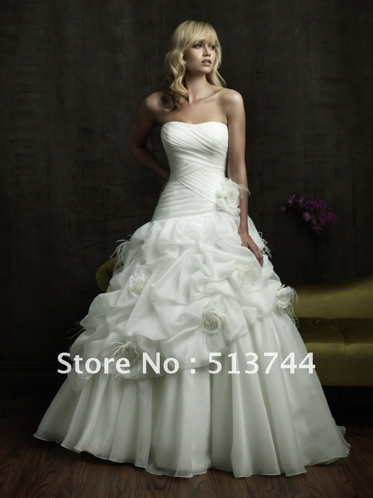 Wedding Dresses Size 6 : Wedding dress bridal prom gown size  dresses