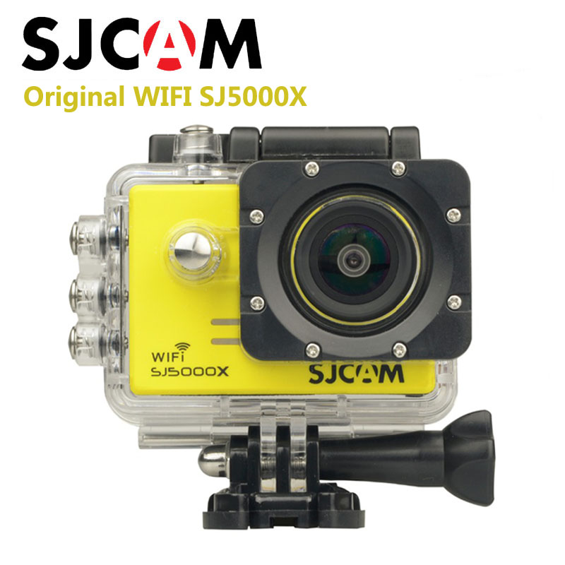 Original SJCAM SJ5000X Elite WiFi 4K 24fps 2K30fps Gyro Sports DV 2.0 LCD NTK96660 Diving 30m Waterproof Sports Action Camera<br><br>Aliexpress