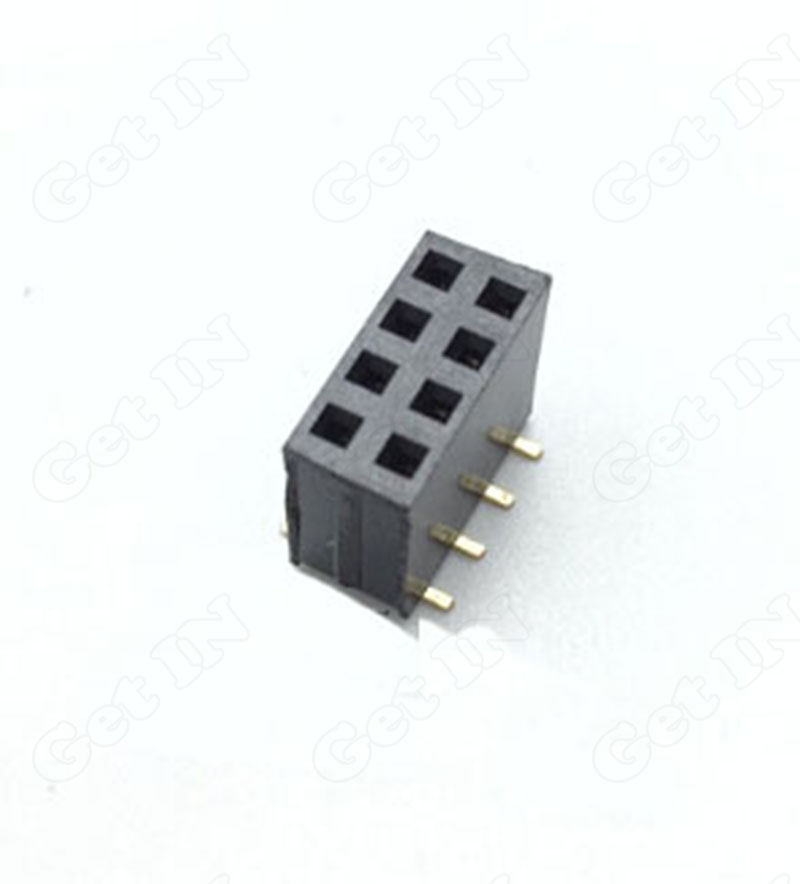 30 SMT 2Rows 2.54mm Spacing H8.5 2*4p Gold pins 2x4Pins Female Terminal Connectors - Get N Electronic Game World store