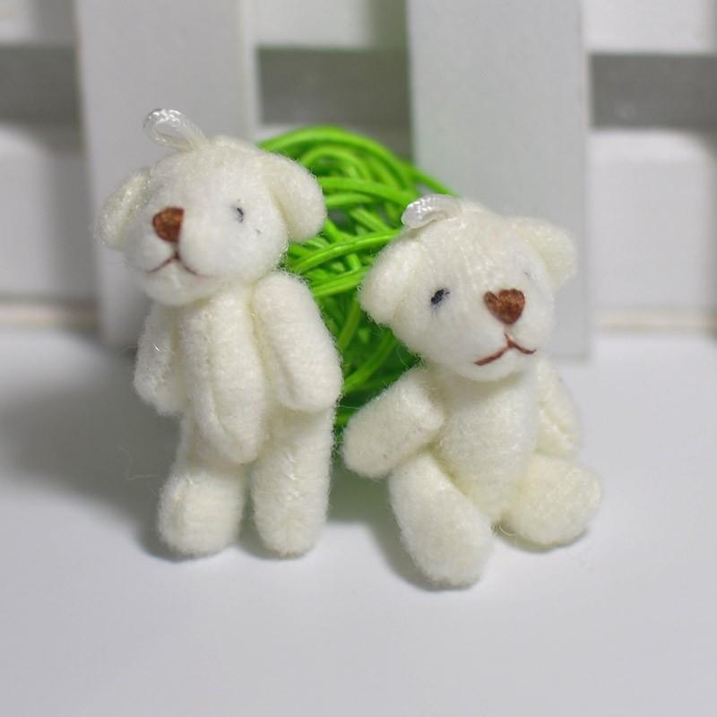 3.5CM Plush joint teddy bear 26
