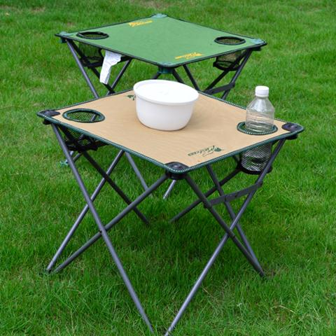 Outdoor Mini Folding Tables Small Square Table Cloth