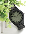 BOBO BIRD Classic Simple Eony Wooden Watch H03 With Wood Band Japan Quartz Movement Watches As