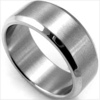 Stainless Steel Classic Men's Ring