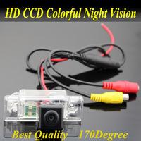 CCD HD Camera For CITROEN C5 C4 C-QUATRE Car parking reverse back up rear view Camera Wide Angle led light kit for NavigationGPS(China (Mainland))