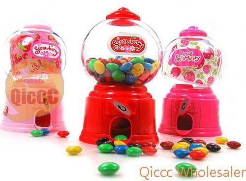 Wholesale 24pc/lot Baby Shower Candy Favors Candy Machine Dispenser baby gift[50 off EMS express]