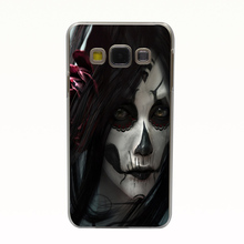 1622T Dark Women Style Hard Back Cover for Galaxy A3 A5 A7 A8 J5 J7 Note 2 3 4 5 Grand 2 & Prime
