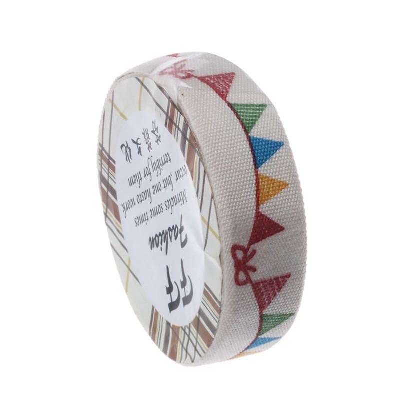 Hot marketing DIY Satin Lace Decorative Tape Washi Fabric Tape Stickers Masking Tape Agu14(China (Mainland))
