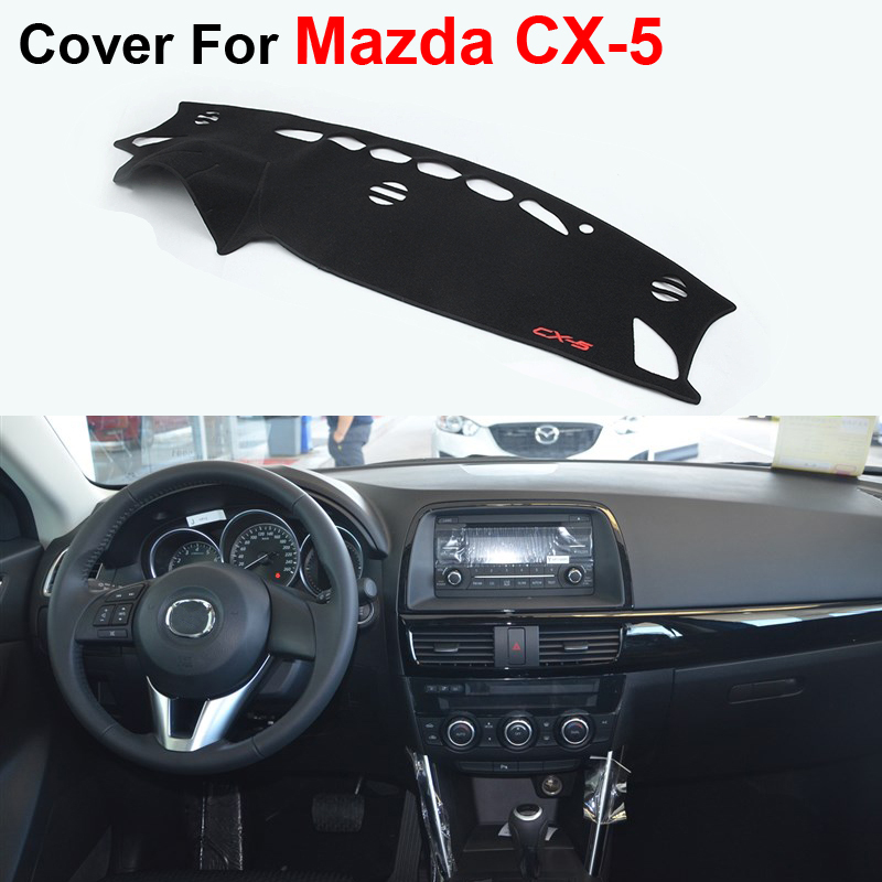 Car Styling Dashboard Protective Mats Shade Cushion Photophobism Pad Interior Carpet For Mazda CX-5 2013 2014 2015<br><br>Aliexpress