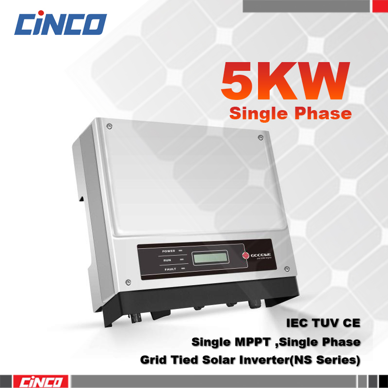 GW5000-NS,4.2KW Power inverter single MPPT 230VAC 50/60HZ,connected 260w 310w mono/poly solar panel sell electry to grid(China (Mainland))