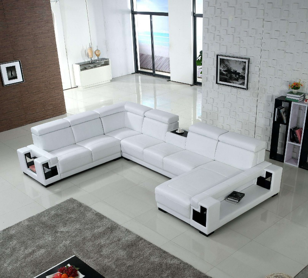 first grade leather sofa designs for living room(China (Mainland))