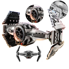 ZW 354pcs star Wars series The Force Awakens TIE Advanced Prototype minifigure fighter Building Blocks Toy Compatible With Legoe(China (Mainland))
