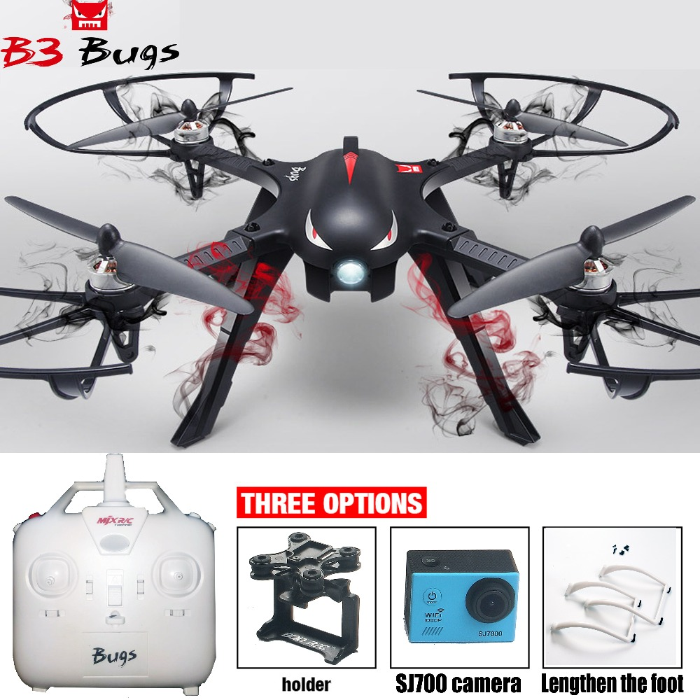 3 RC Quadcopter Brushless 2.4G 6-Axis Gyro Drone with Camera Mounts for Gopro/Xiaomi/Xiaoyi Camera Toys for children