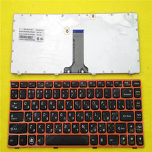 RU/Russian Laptop Replacement Keyboard LENOVO Z370 Z470 BLACK RED FRAME New Repair Notebook Keyboards - CIES Trading Co.,Ltd. store