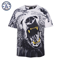 Mr BaoLong brand Plus Size L 3XL Roaring bear Printed t shirt men summer style short