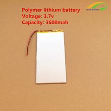 3.7v 3600mAh large-capacity ultra-thin MID 10 inch Tablet PC Battery(China (Mainland))