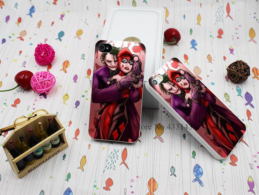 Hard White Case Cover iPhone 4 4s Batman Joker Harley Quinn Love Style - Shenzhen ZhuoYou Technology Co.,LTD store