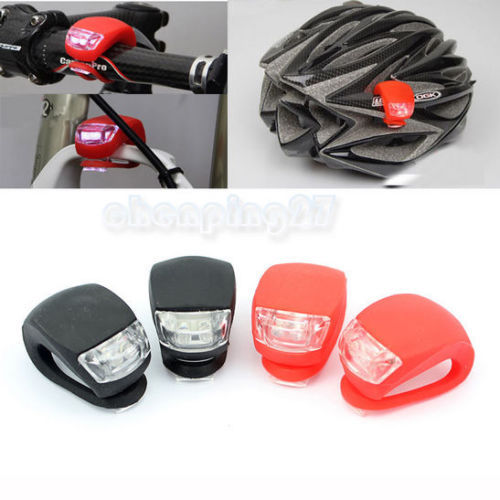 1pcs a lot 2 LED Bicycle Light Lamp Silicone Rear Wheel Waterproof Safety Bike Rated 5.0 /5 based on 1 customer reviews 100.0%(China (Mainland))