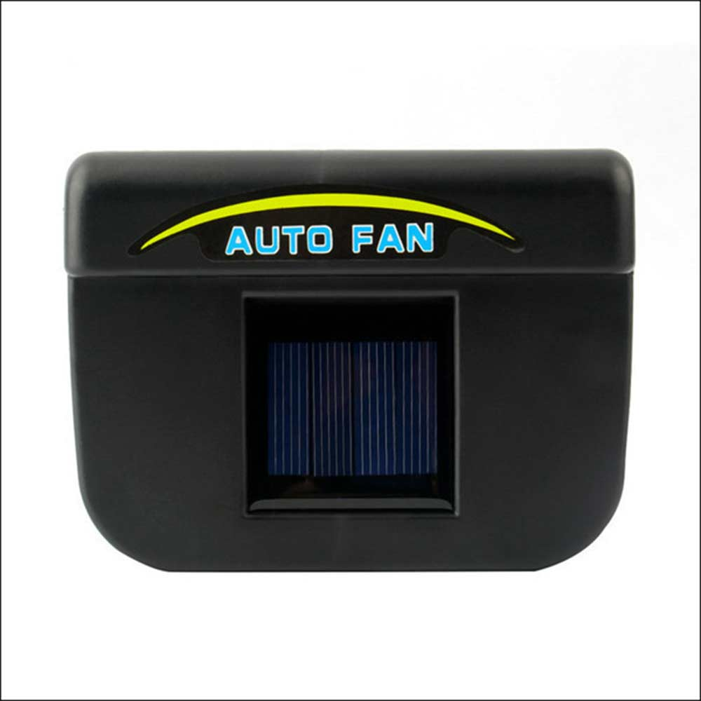 2016 car ventilation fan Solar Sun Power Car Window Fan Auto Ventilator Cooler Air Vehicle Radiator vent With Rubber Stripping(China (Mainland))