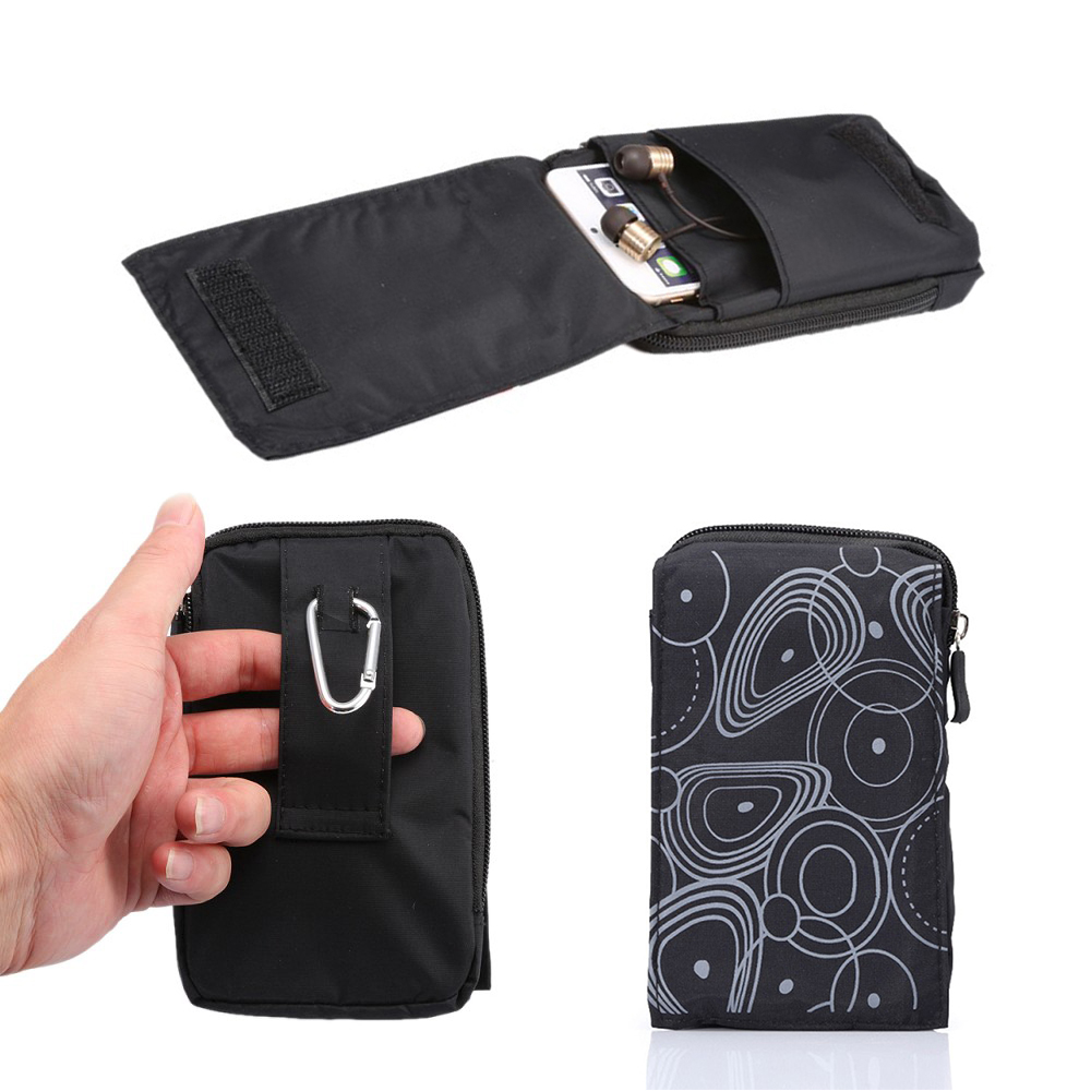 New Sports Wallet Mobile Phone Bag For Multi Phone Model Hook Loop Belt Pouch Holster Bag Pocket Outdoor Army Cover Case(China (Mainland))
