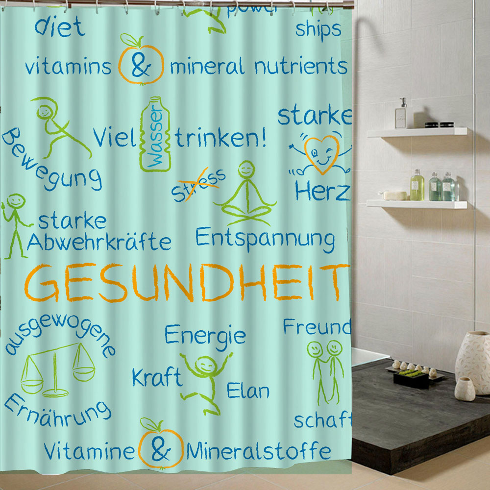 Online get cheap kids shower curtains for Cheap childrens curtain fabric