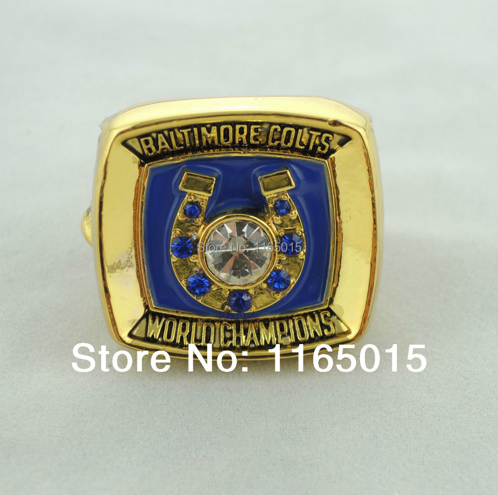 Free shipping excellent design replica 1970 Baltimore colts super bowl sports championship rings size 10.75(China (Mainland))