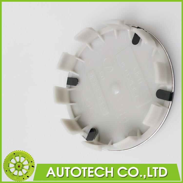 Car Styling 4Pcs/Lot 68mm Blue White ABS Alloy 10Pins Car Wheel Center Hub Caps Rim Caps Logo Emblem Badge Part No 36136783536(China (Mainland))