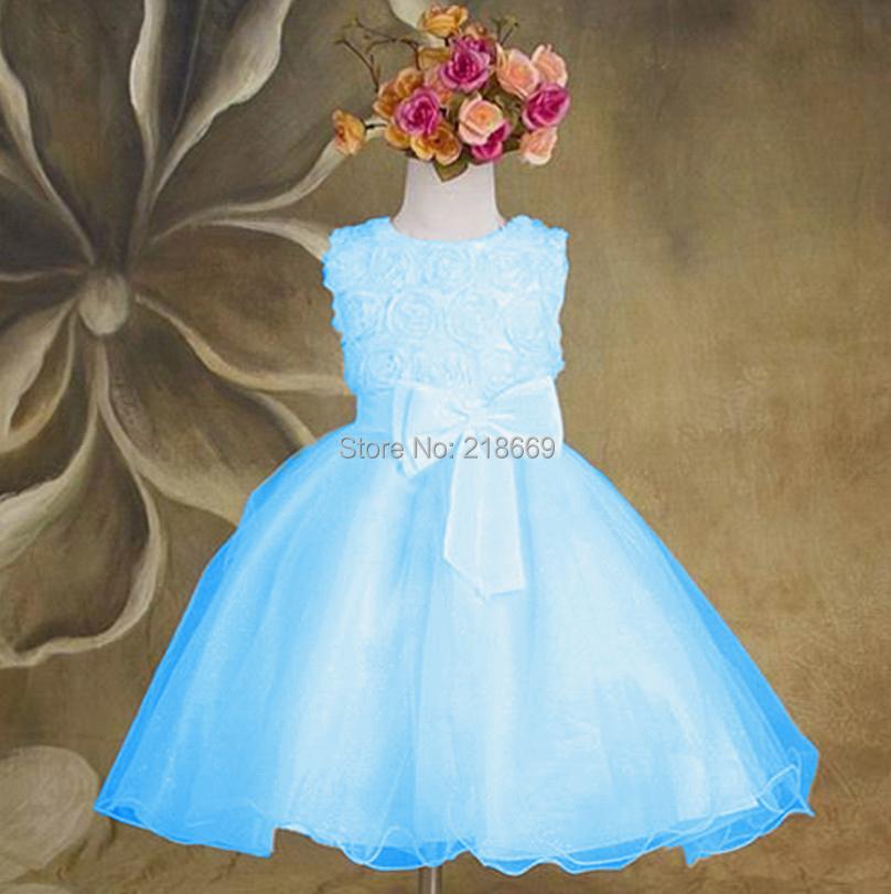 Girl dress birthday party girls christmas dress 2015 new summer baby
